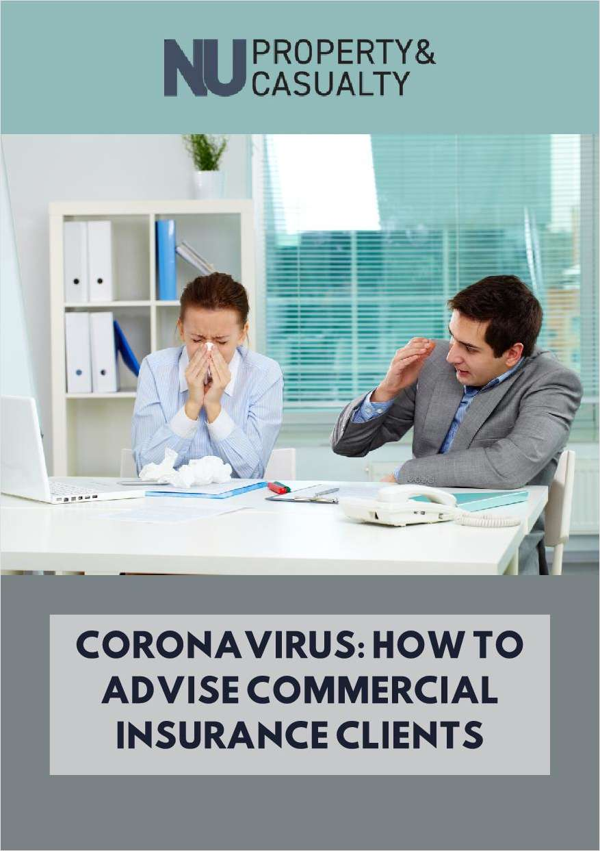 Coronavirus: How to Advise Commercial Insurance Clients