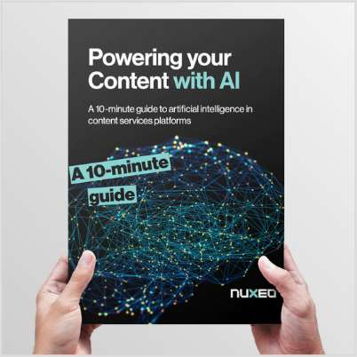 Powering your Content with Artificial Intelligence