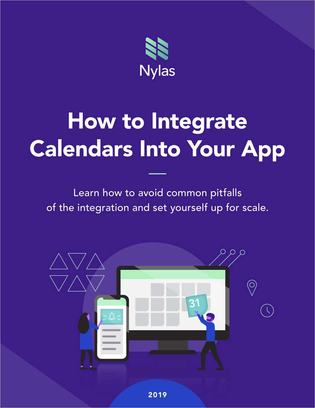 Your 2019 Guide to Calendar Integration Success