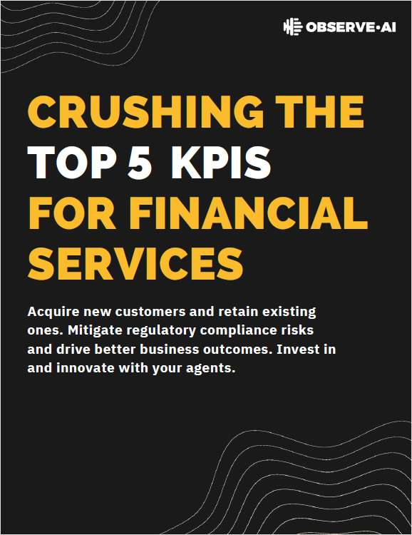 eBook: Crushing the Top 5 KPIs for Financial Services