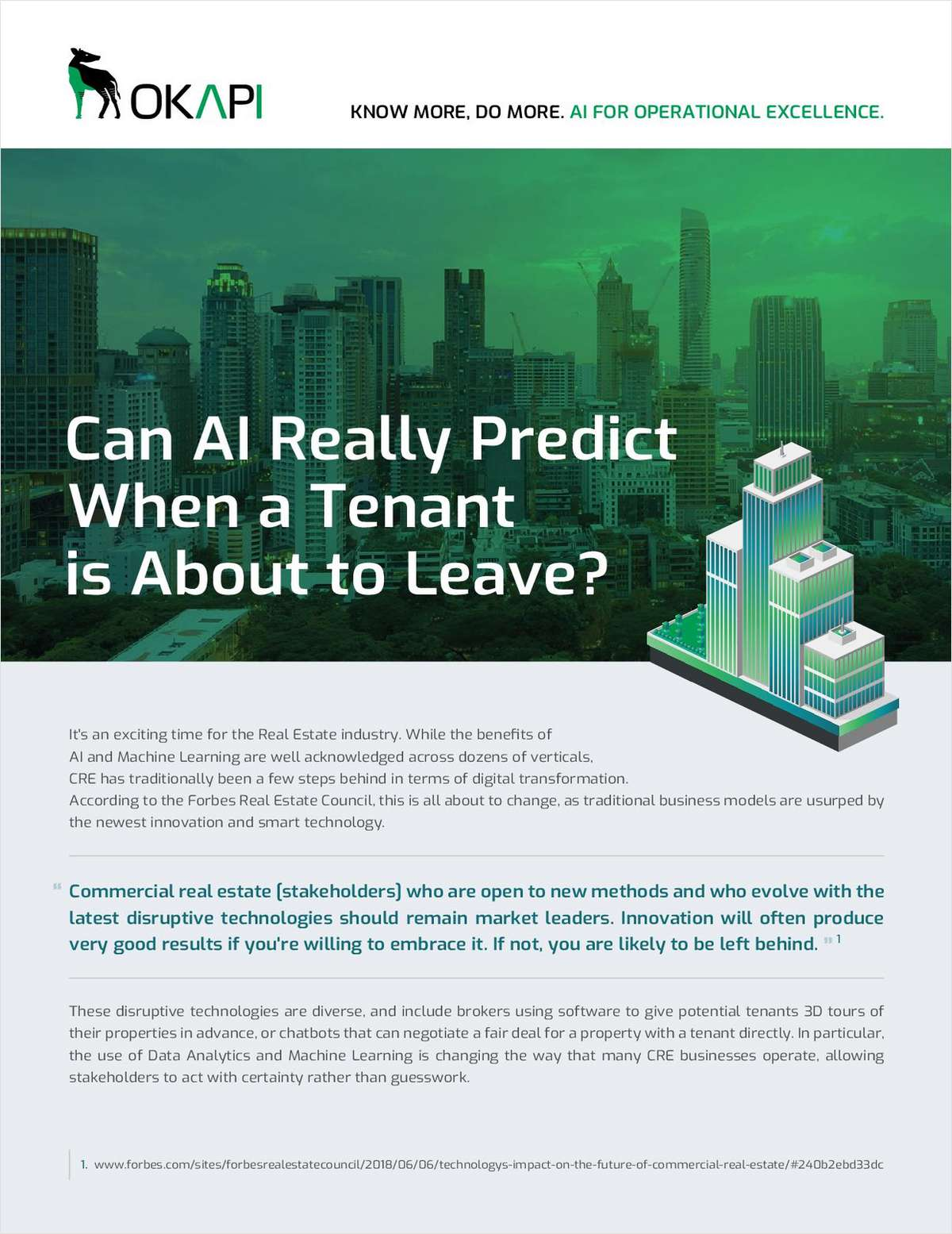 Can Artificial Intelligence Really Predict When a Tenant is About to Leave?