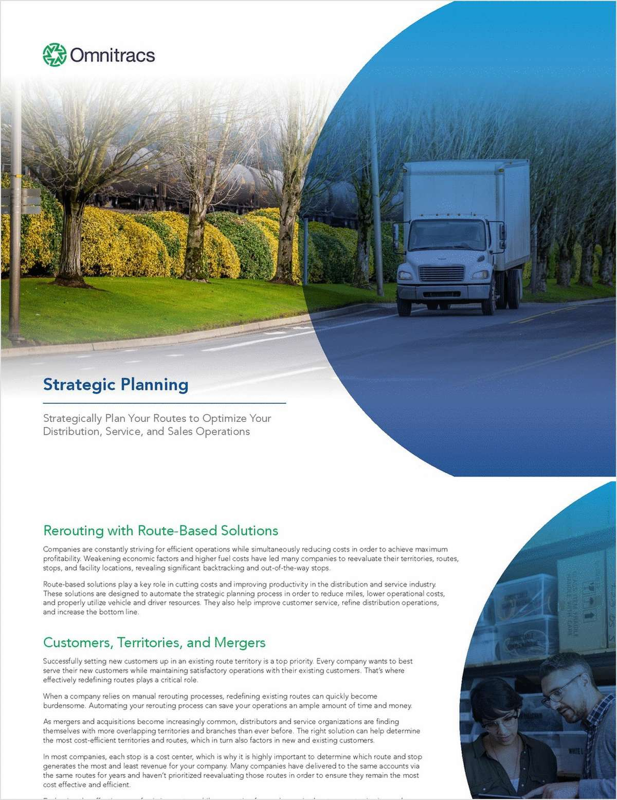 Strategic Planning: Strategically Plan Your Routes to Optimize Your Distribution, Sales, and Service Operations