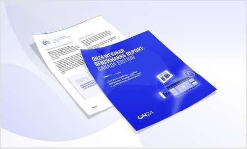 ON24 Webinar Benchmarks Report: Canada Edition