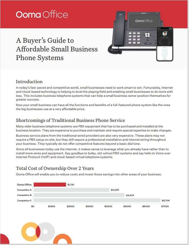 A Buyer's Guide to Affordable Small Business Phone Systems