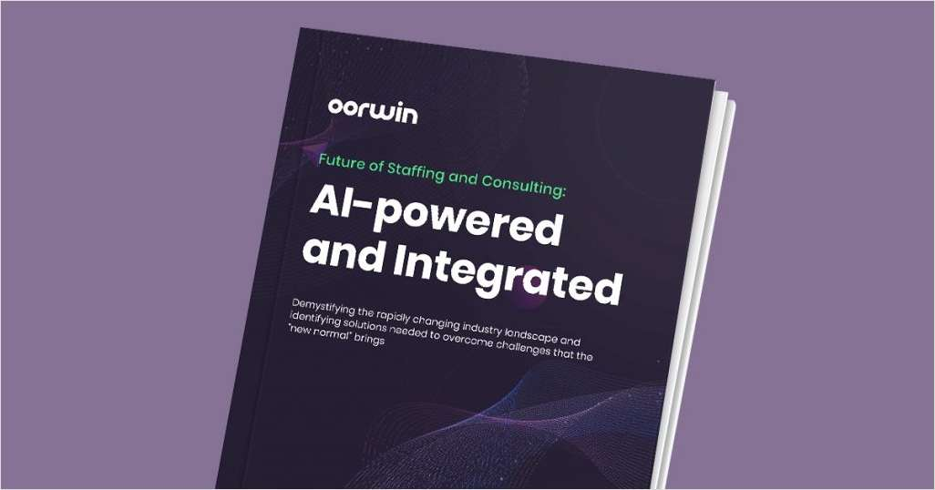 Future of Staffing and Consulting: AI-powered and Integrated