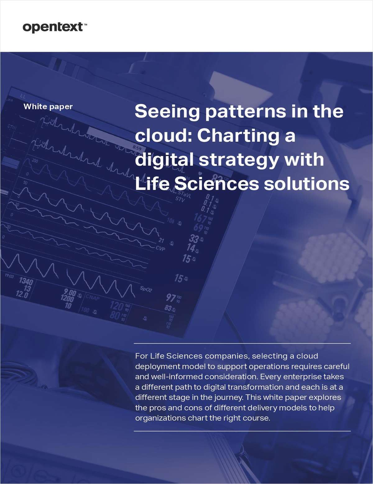 Seeing patterns in the cloud: Charting a digital strategy with Life Sciences solutions