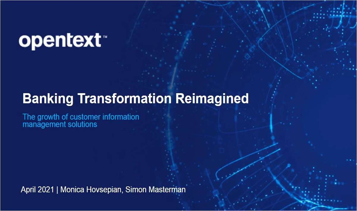 Banking Transformation Reimagined: The Growth of Customer Information Management Solutions
