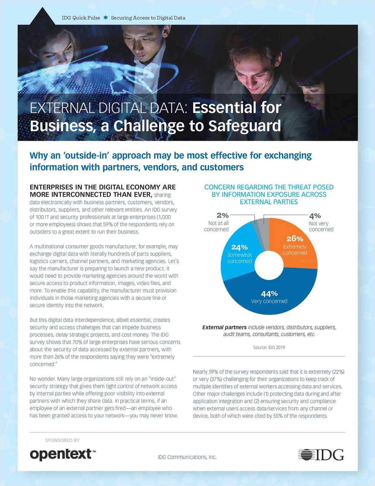 External Digital Data: Essential for Business, a Challenge to Safeguard