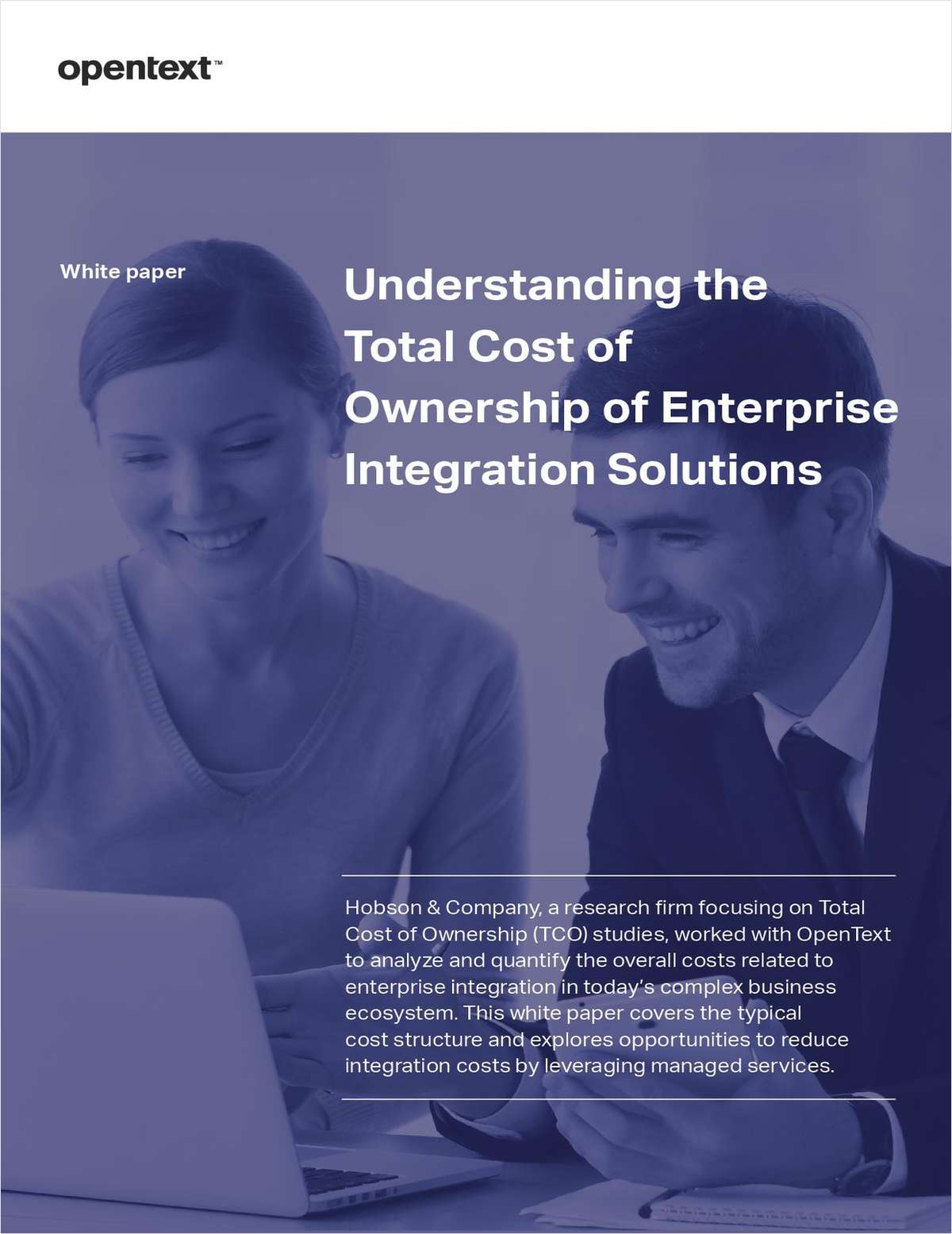 Understanding the Total Cost of Ownership of Enterprise Integration Solutions