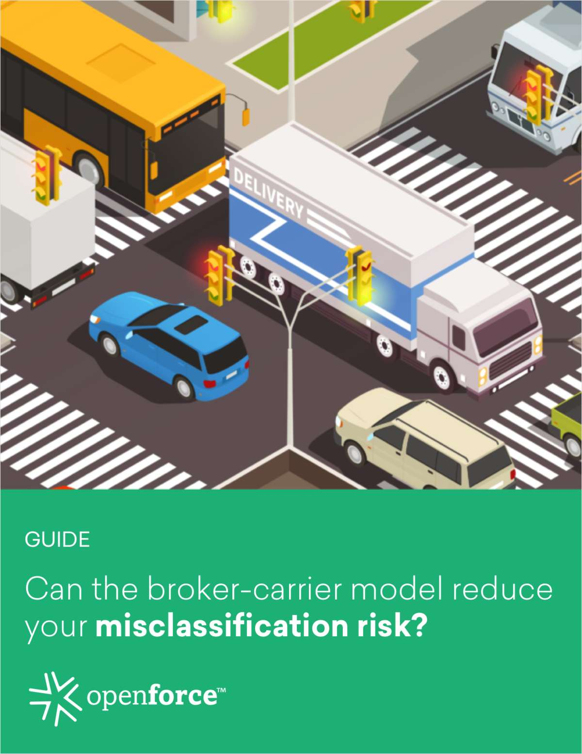 Can the Broker-Carrier Model Reduce Your Misclassification Risk?