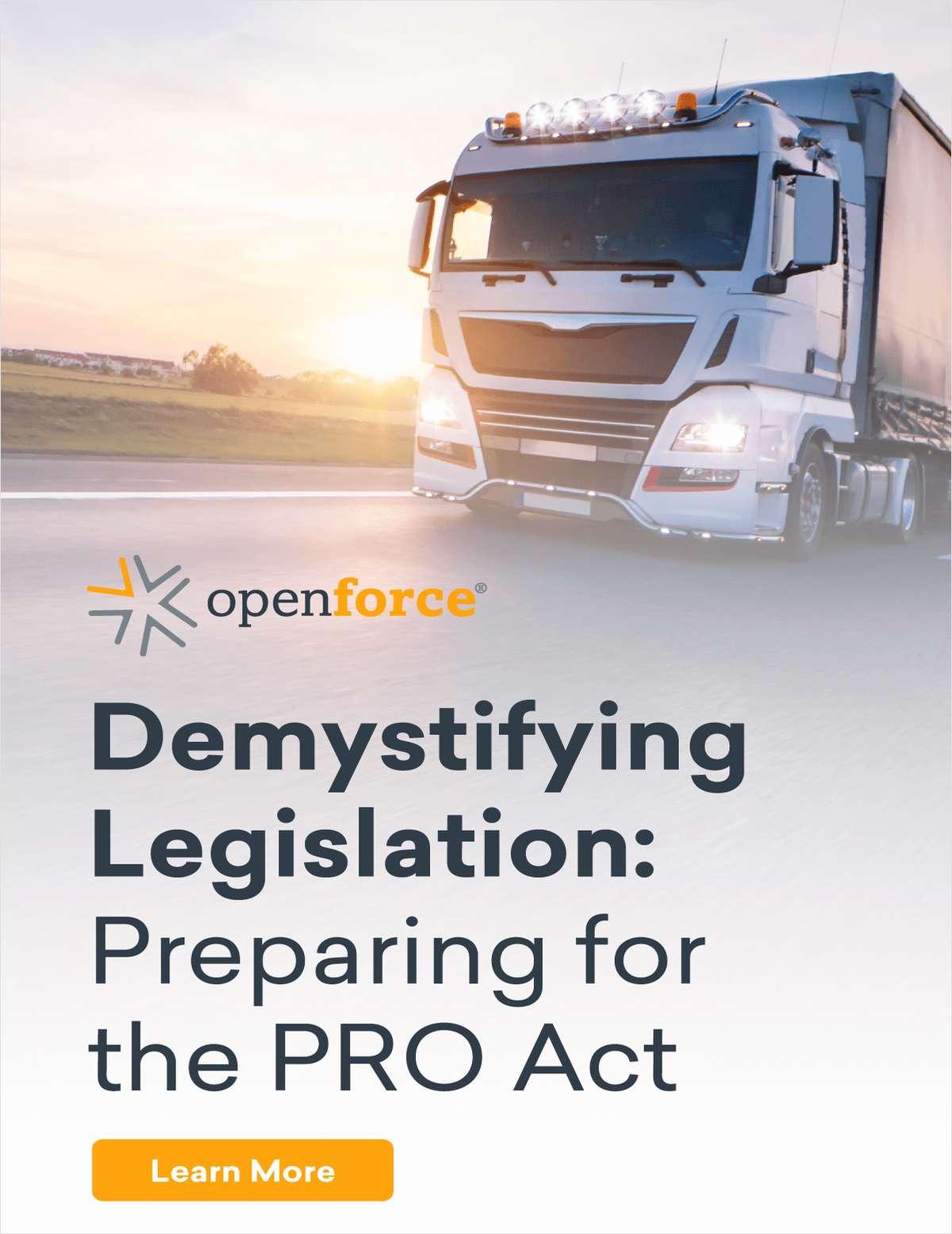 Demystifying Legislation: Preparing for the PRO Act