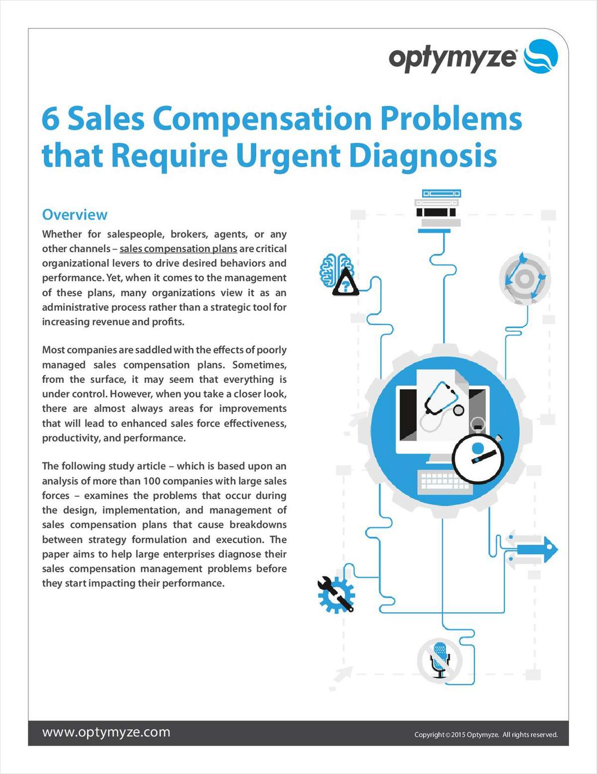 6 Sales Compensation Problems that Need Urgent Diagnosis