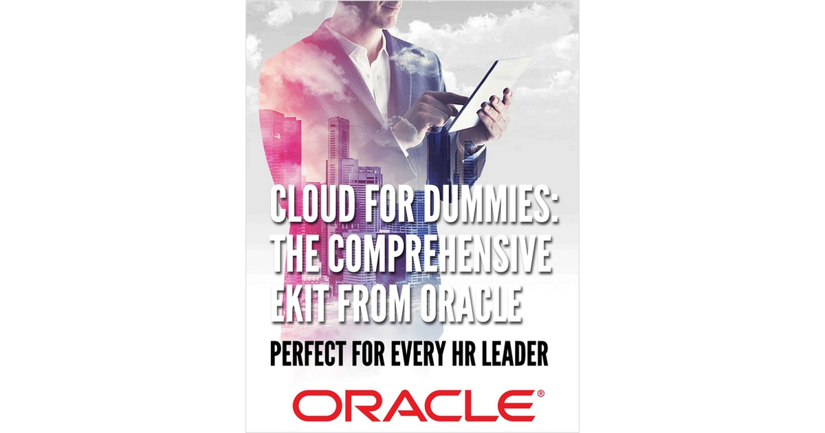 Cloud for Dummies: The Comprehensive eKit from Oracle