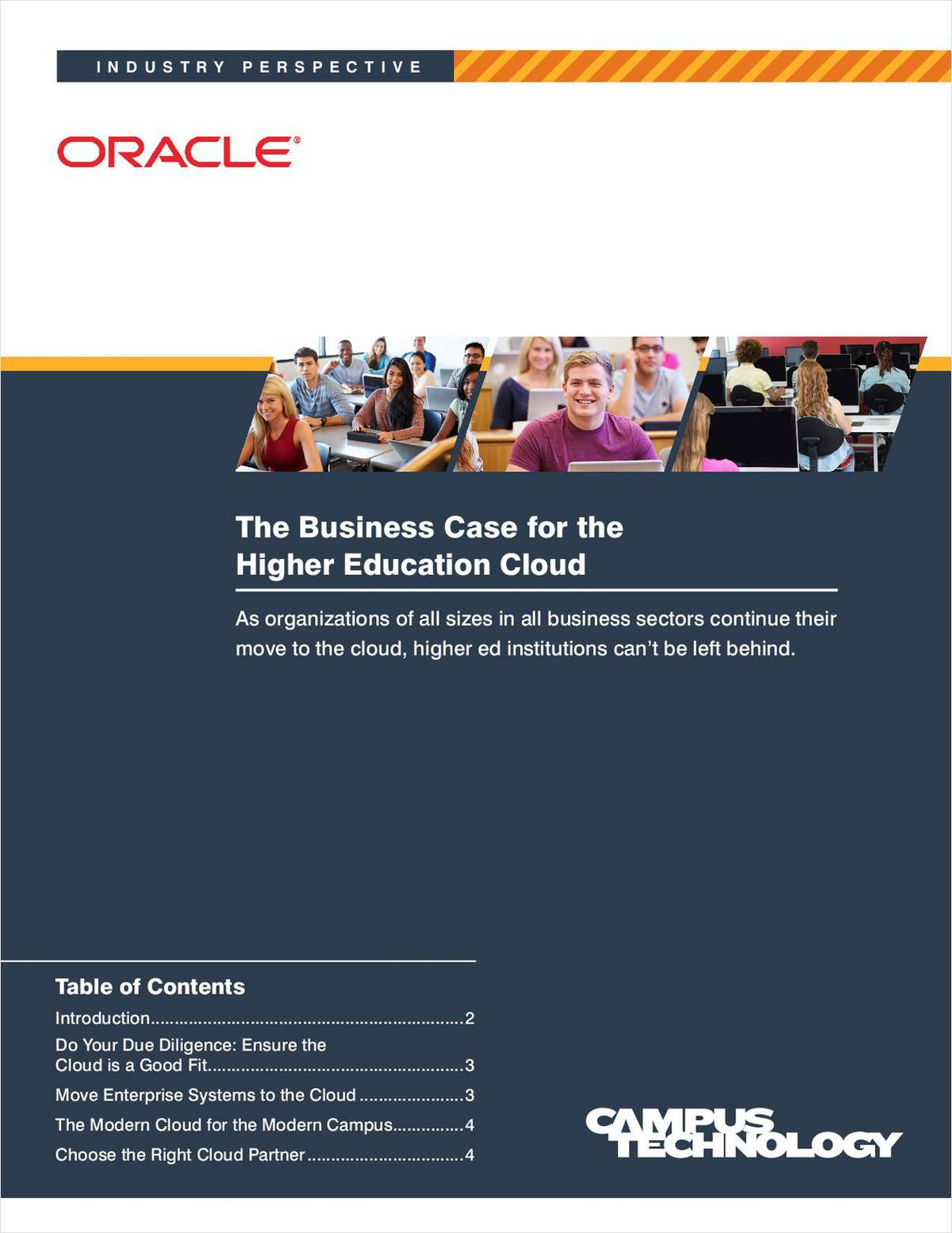 The Business Case for the Higher Education Cloud