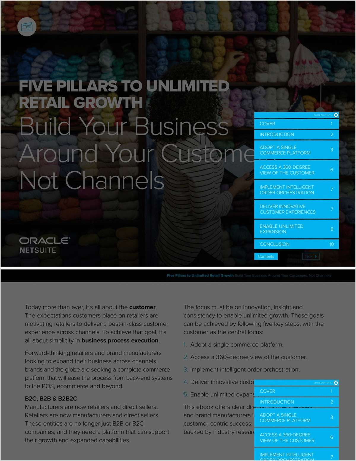 Five Pillars to Unlimited Retail Growth