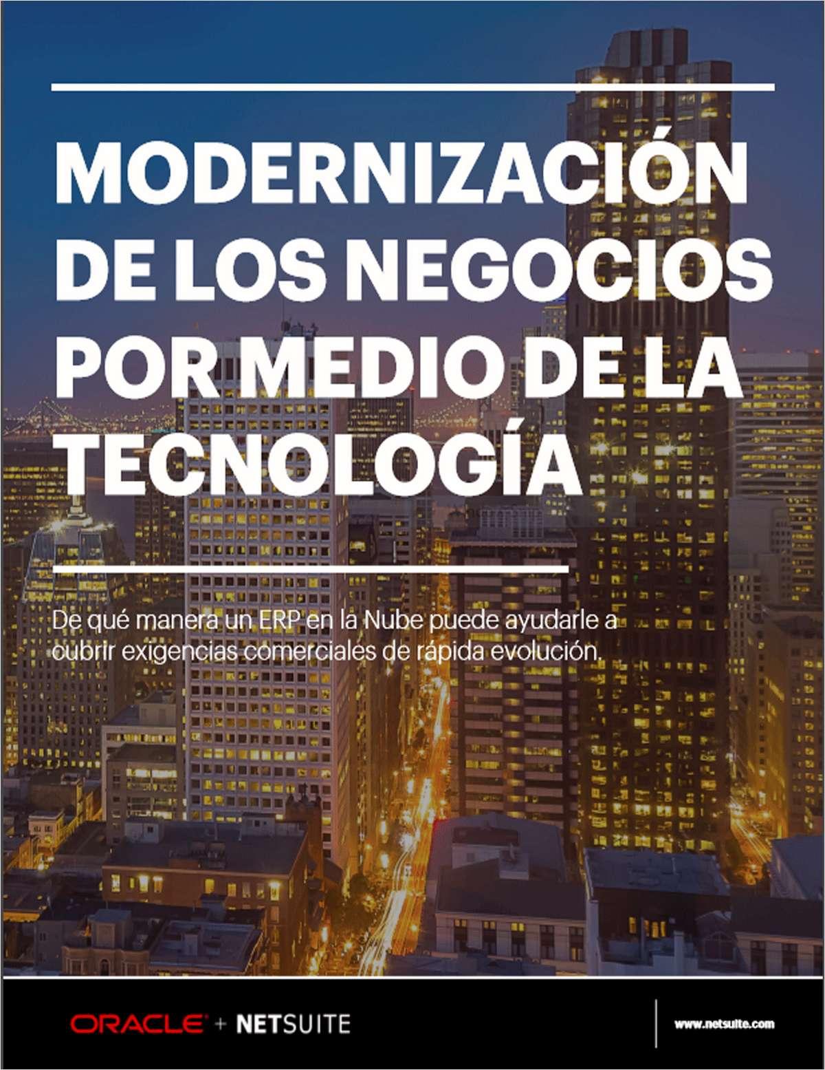 MODERNIZACIÓN DE LOS NEGOCIOS POR MEDIO DE LA TECNOLOGÍA