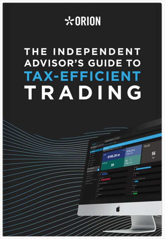 The Independent Advisor's Guide to Tax-Efficient Trading