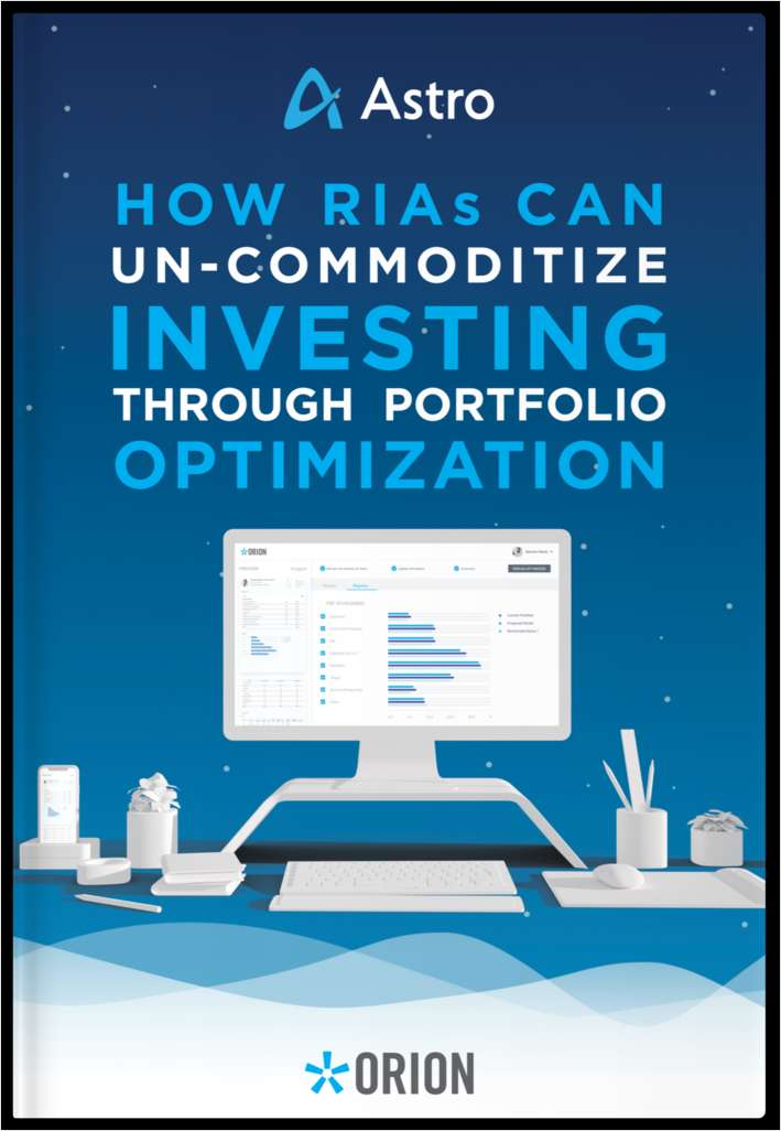 How RIAs Can Un-Commoditize Investing through Portfolio Optimization