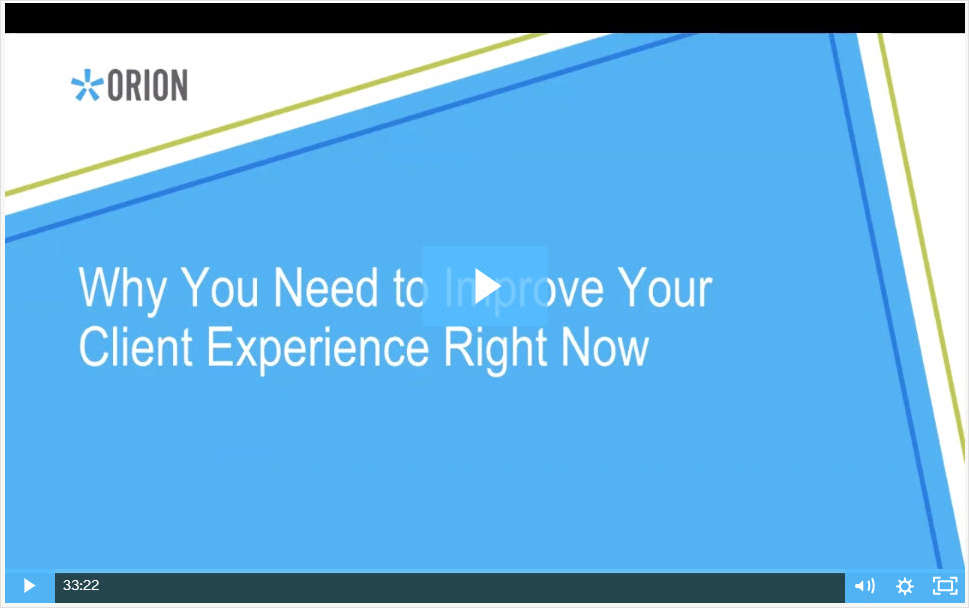 Why You Need to Improve Your Client Experience Right Now