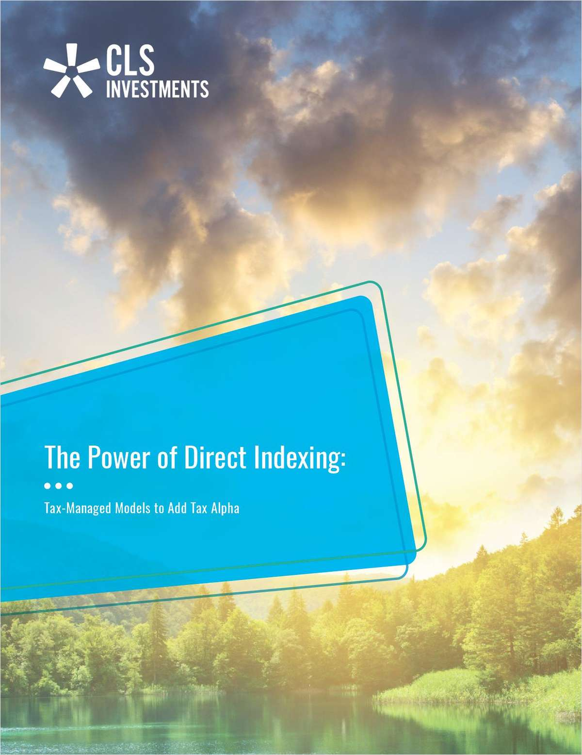 The Power of Direct Indexing: Tax-Managed Models to Add Tax Alpha