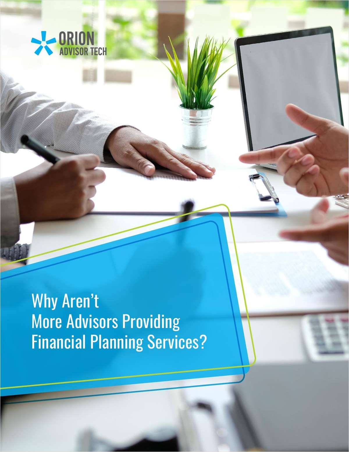 Why Aren't More Advisors Providing Financial Planning Services?