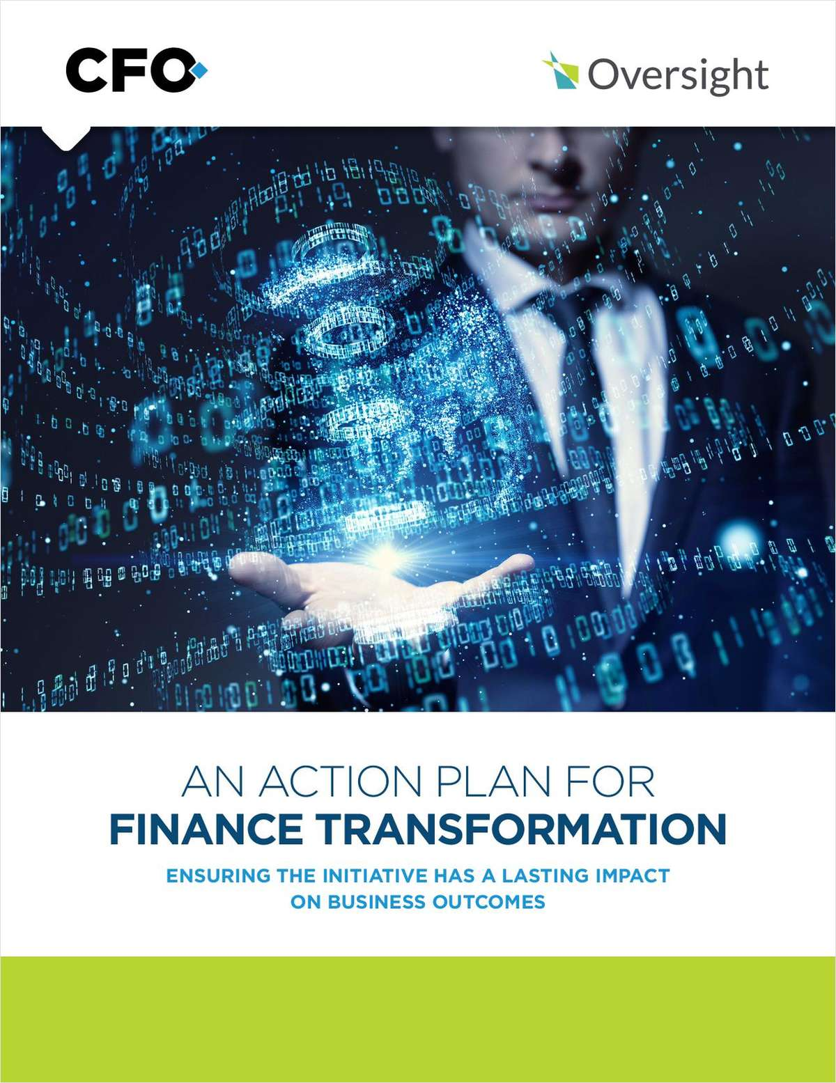 AN ACTION PLAN FOR  FINANCE TRANSFORMATION