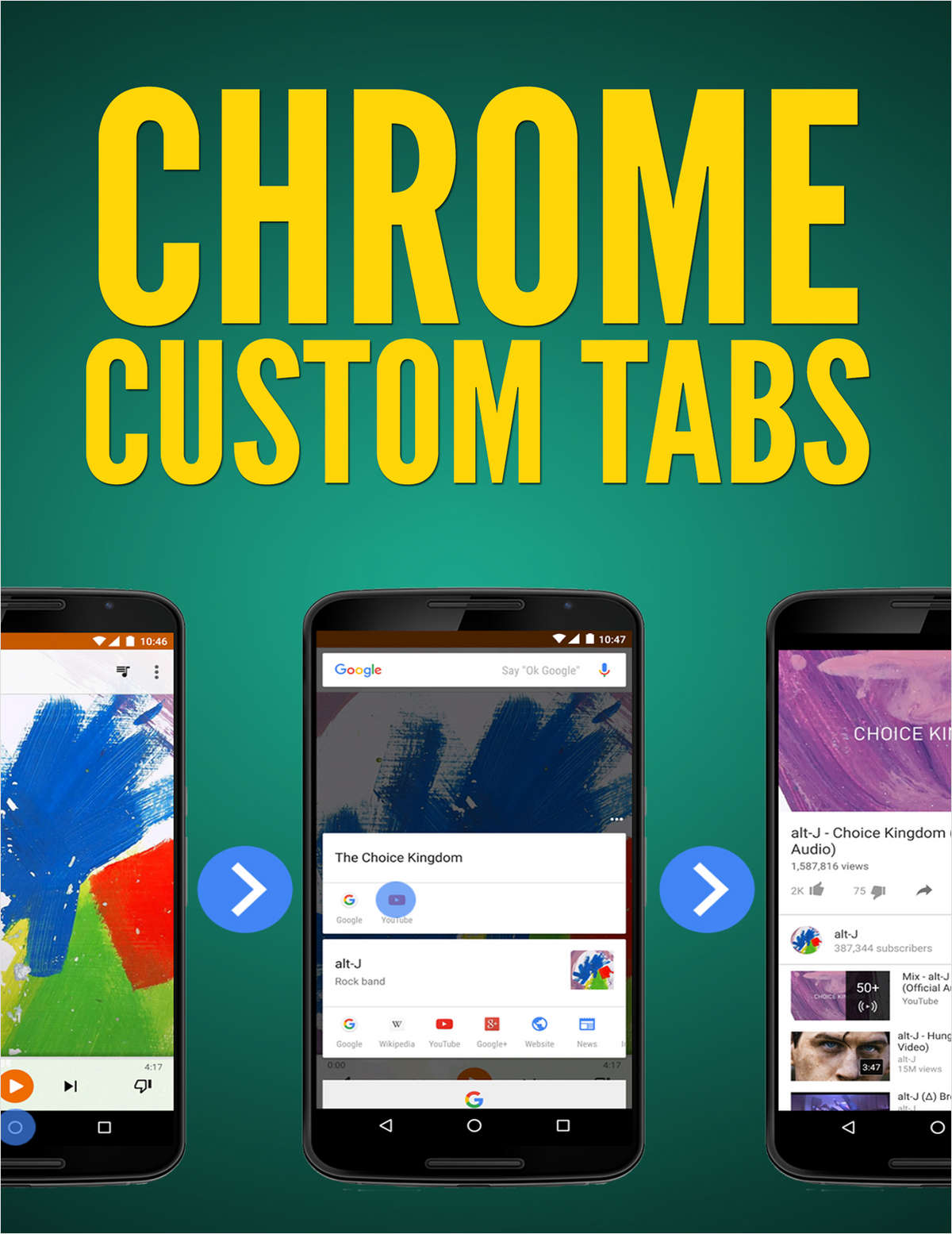 Chrome Custom Tabs