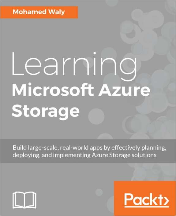 Learning Microsoft Azure Storage - Free Sample Chapters