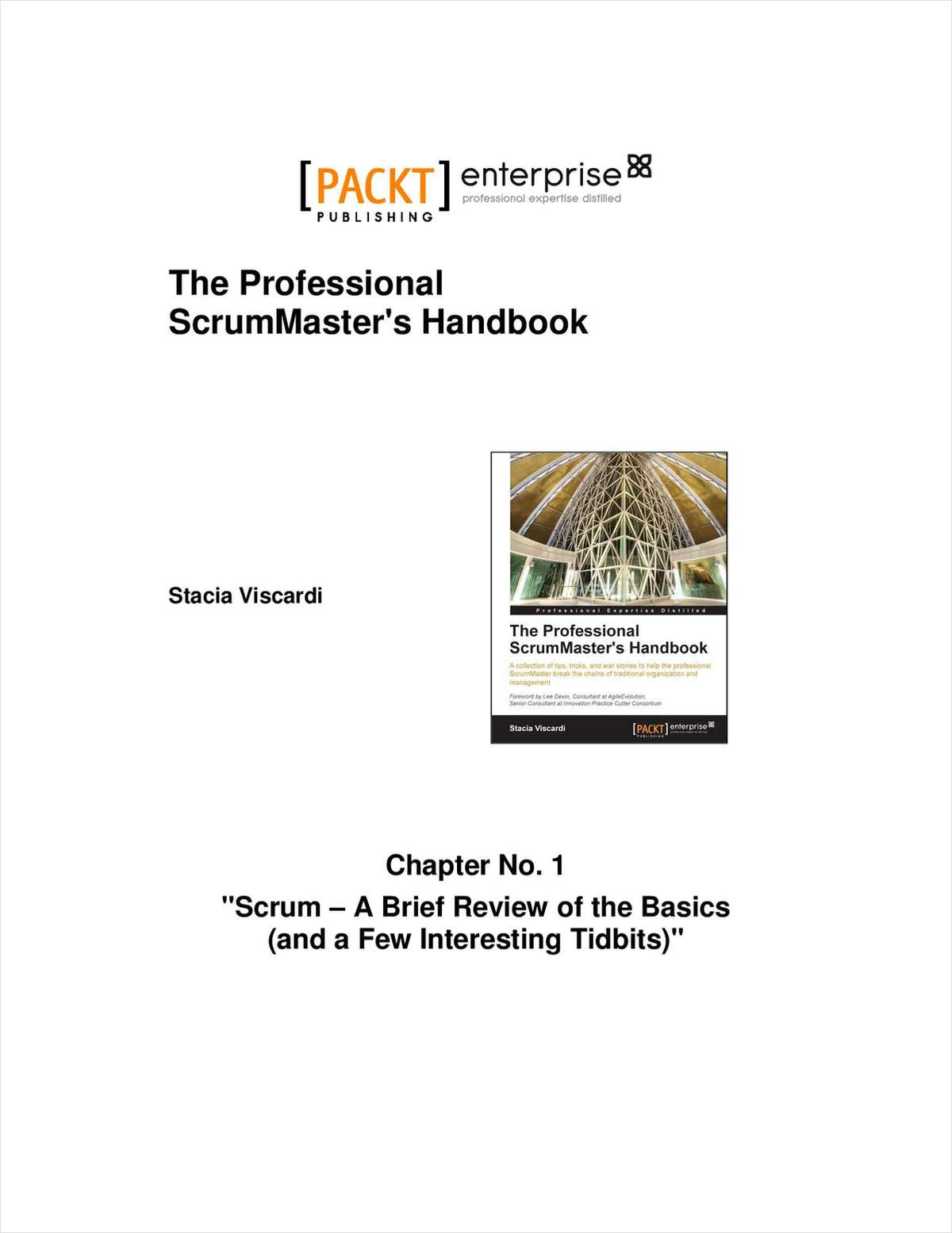 The Professional ScrumMaster's Handbook--Free 30 Page Excerpt