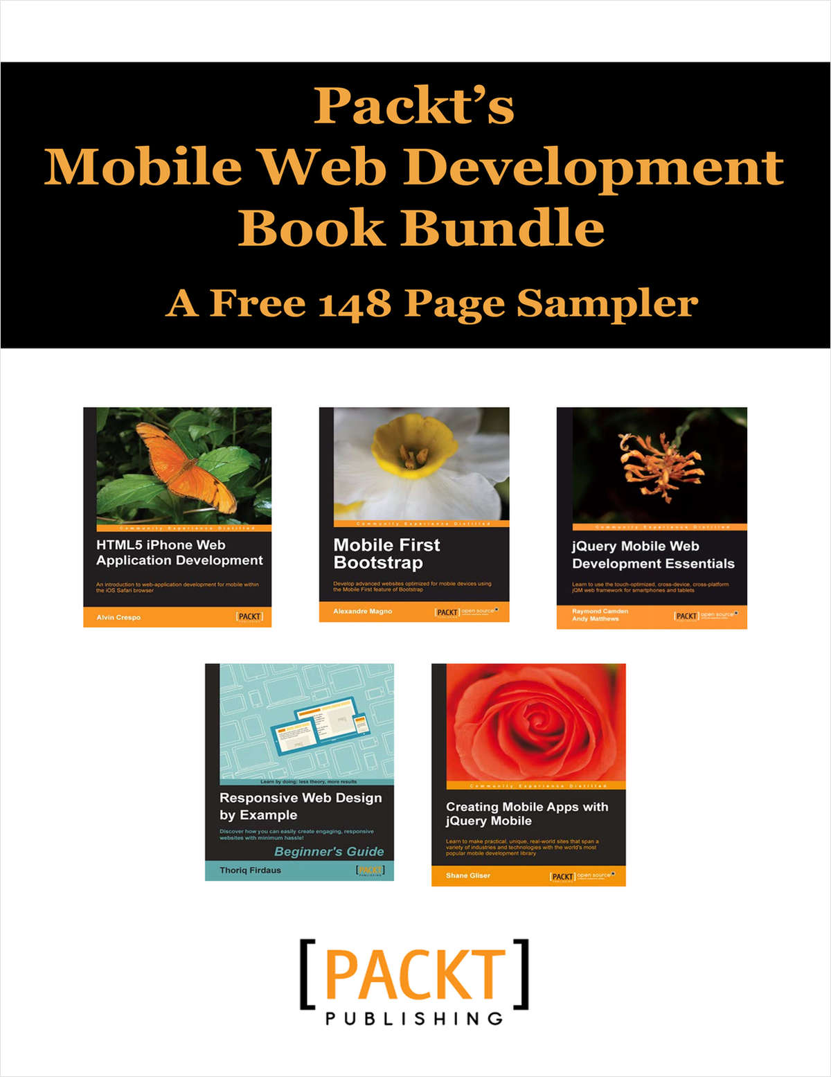 Packt's Mobile Web Development Book Bundle -- A Free 148 Page Sampler