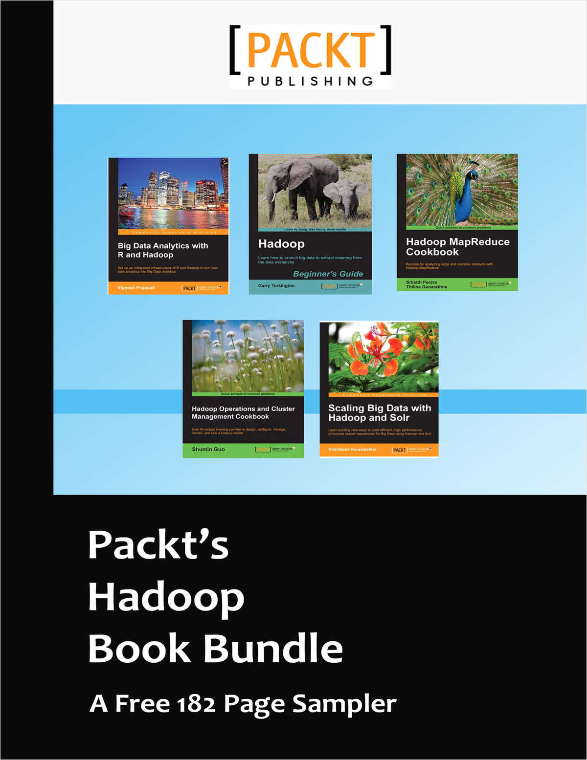 Packt's Hadoop Book Bundle -- A Free 182 Page Sampler