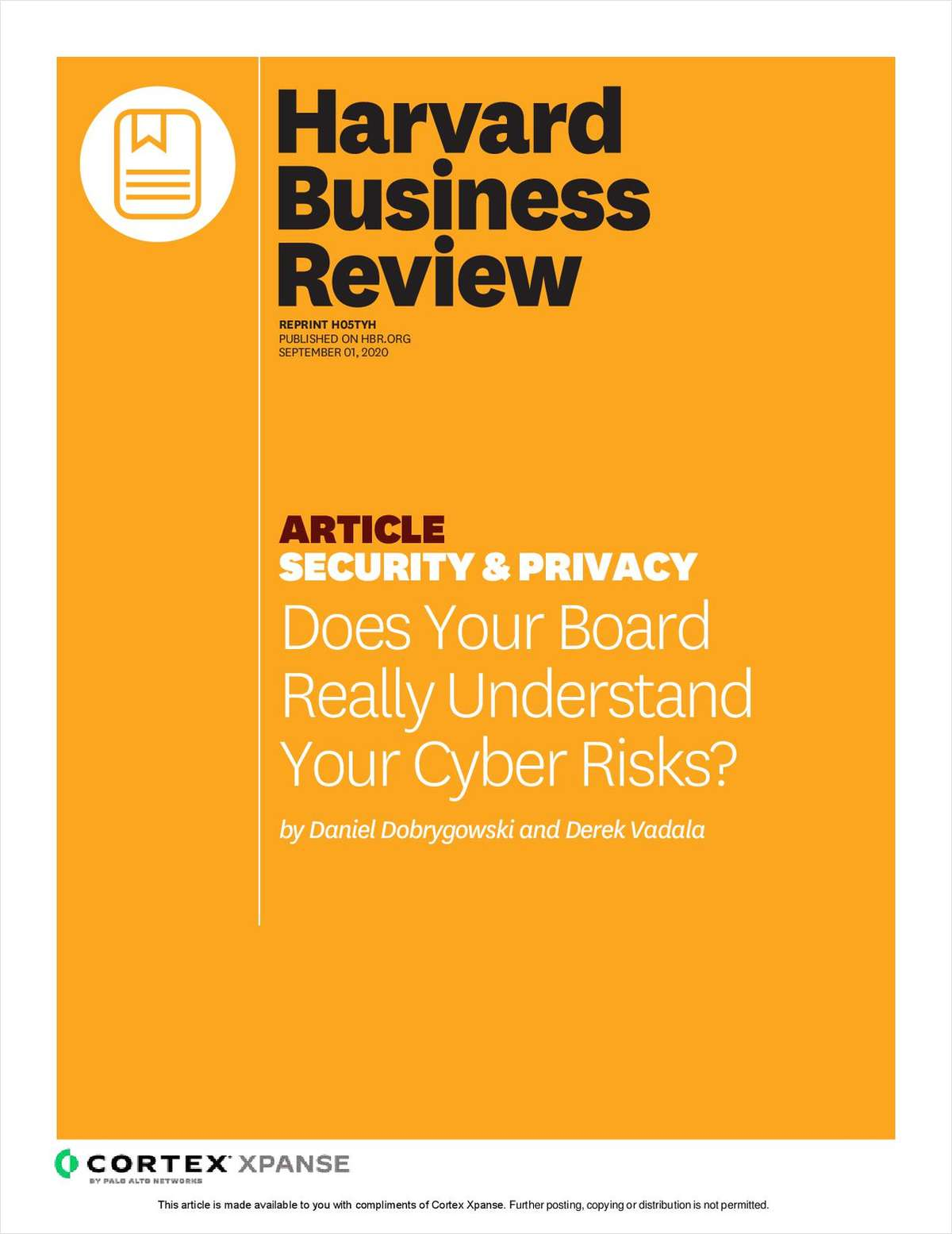 Does Your Board Really Understand Your Cyber Risks?