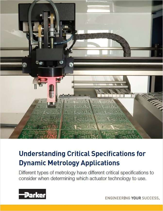 Understanding Critical Specifications for Dynamic Metrology Applications