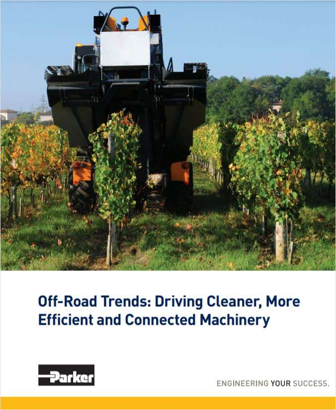 Off-Road Trends: Driving Cleaner, More Efficient and Connected Machinery