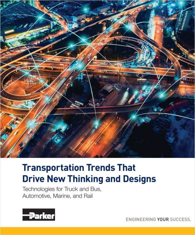 Transportation Trends that Drive New Thinking and Designs