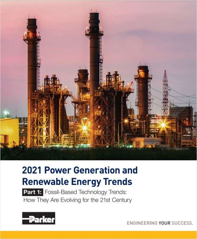 2021 Power Generation and Renewable Energy Trends: Fossil-Based Technology Trends