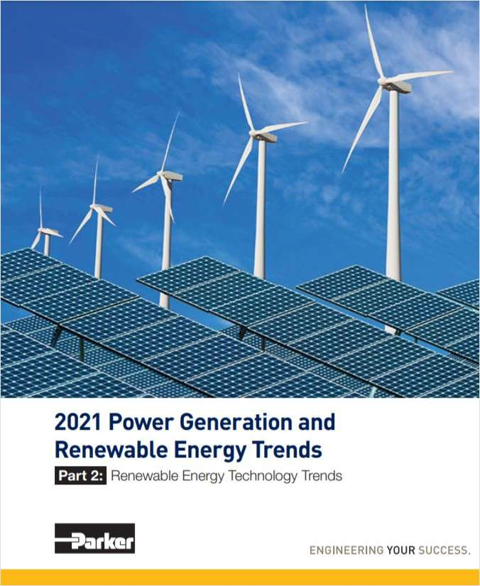 2021 Power Generation and Renewable Energy Trends: Renewable Energy Technology Trends