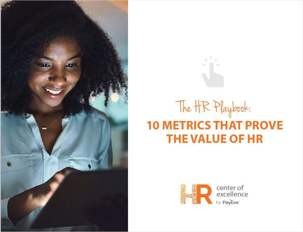 The HR Playbook: 10 Metrics That Prove the Value of HR