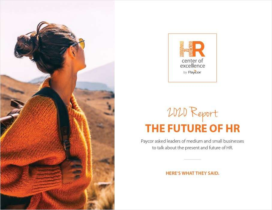 2020 Report: The Future of HR