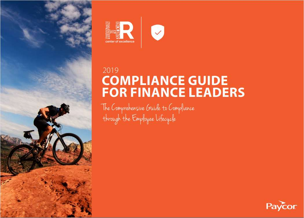 2019 Compliance Guide for CFO's