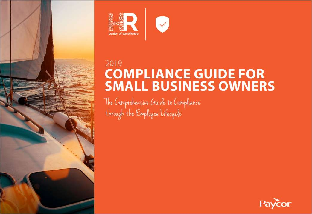2019 Small Business Owner's Guide to HR Compliance