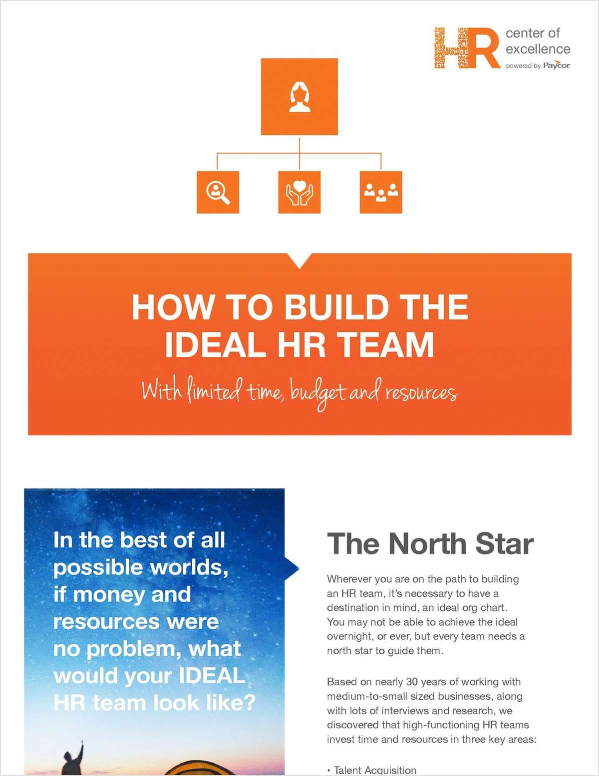 How to Build the Ideal HR Team