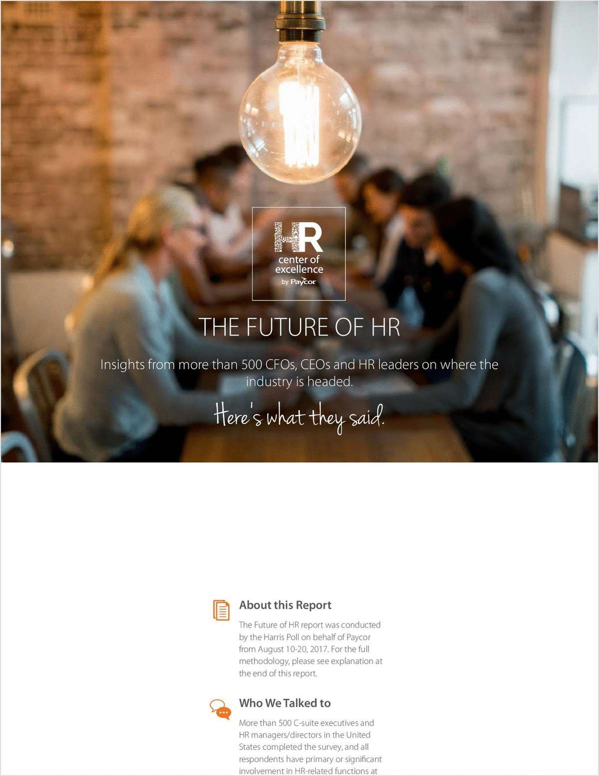 2019 Future of HR Report