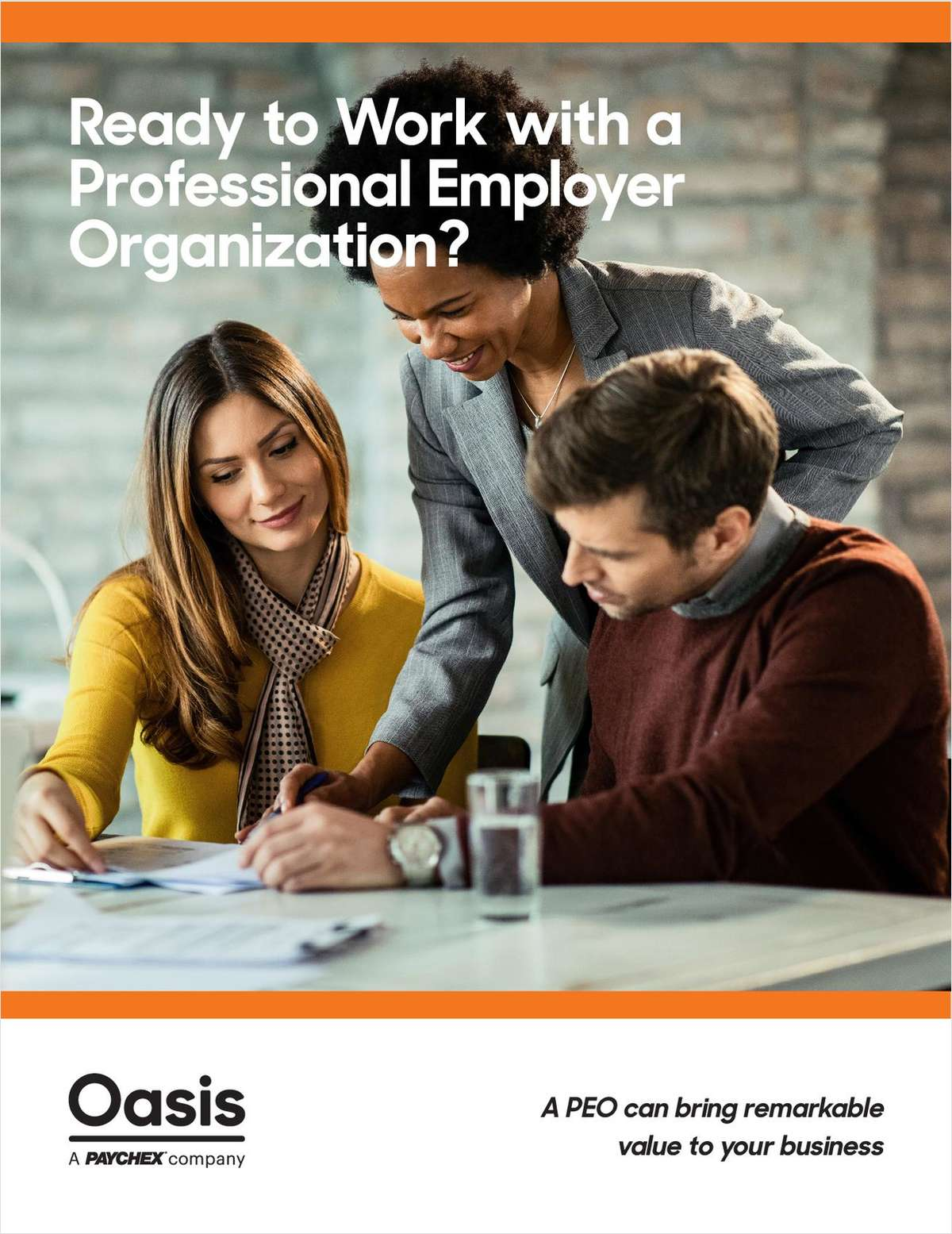 Time to Work with a Professional Employer Organization?