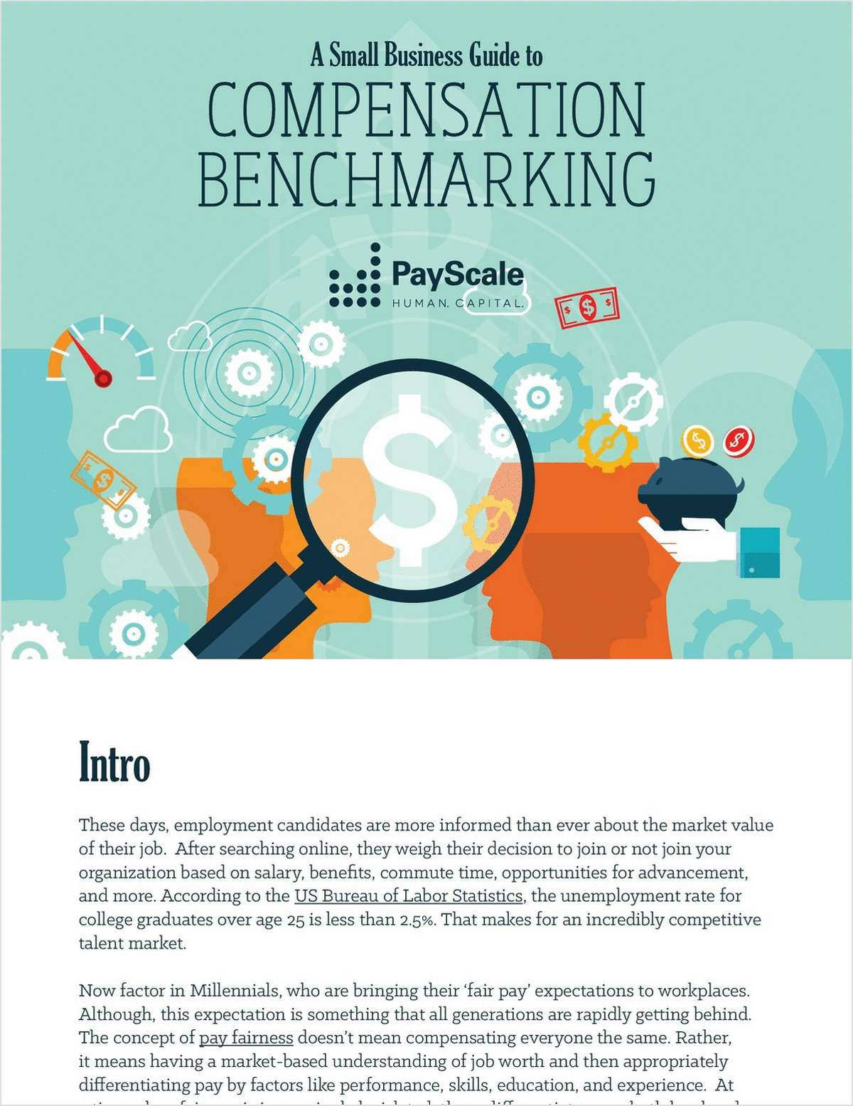 Small Business Guide to Comp Benchmarking Free eBook