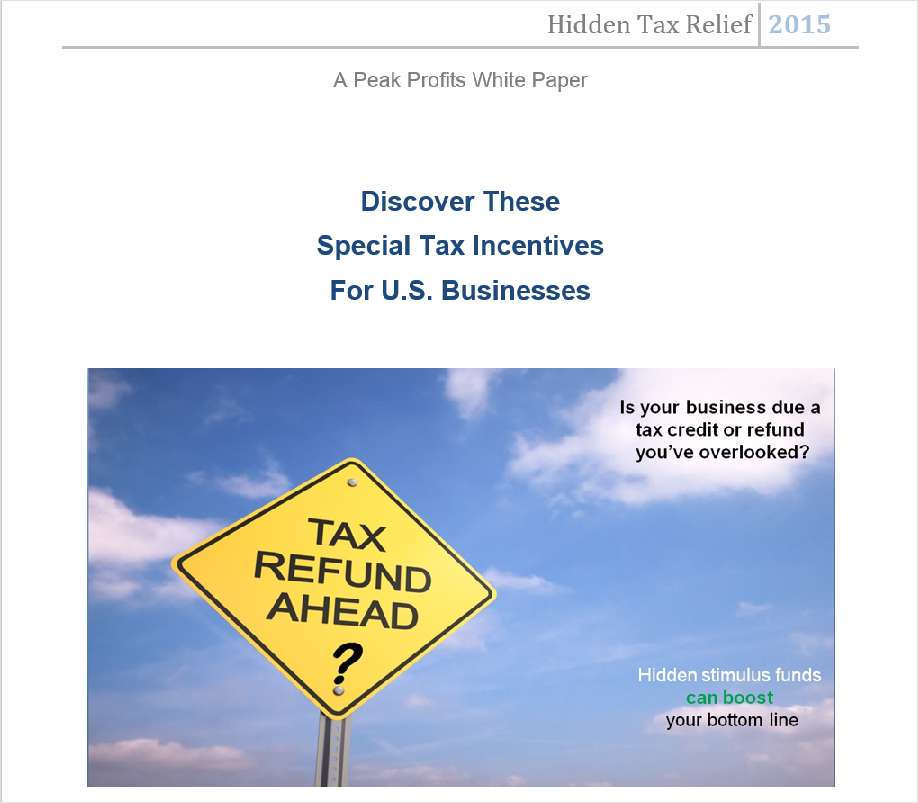 Hidden Tax Relief