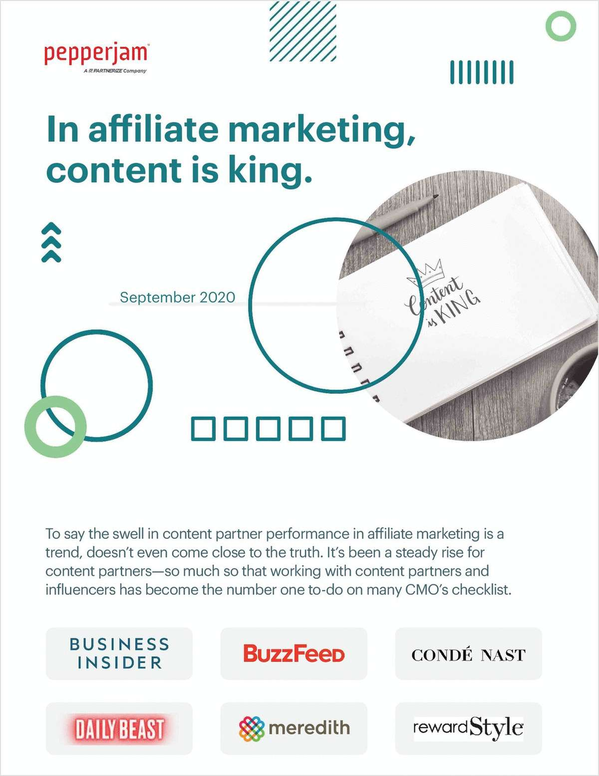 In Affiliate Marketing Content is King