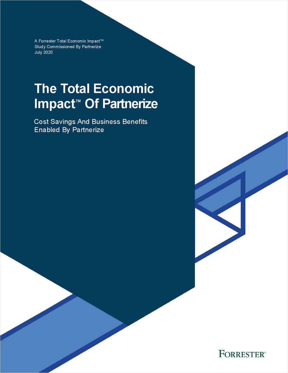 The Total Economic Impact™ of Partnerize