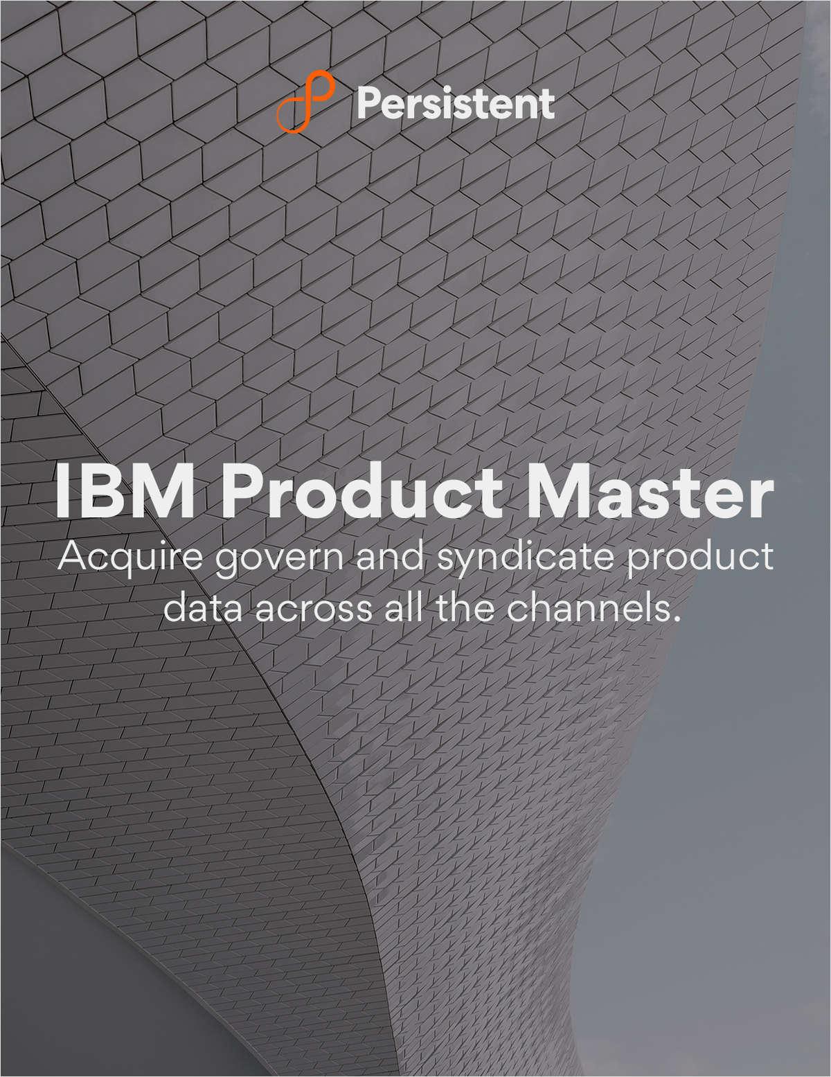 IBM Product Master - On-Demand Webinar