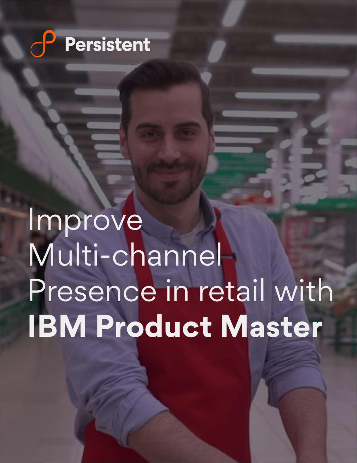 IBM Product Master : Modernizing how product data is managed